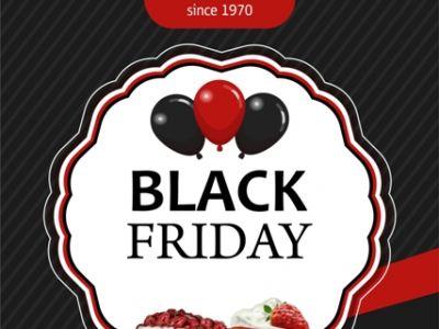Black Friday στα ζαχαροπλαστεία ΒΑΣΑΚΗ!!!