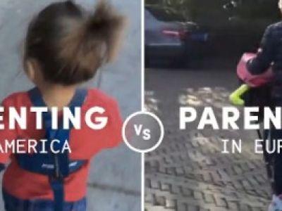 Οι διαφορές ανάμεσα στους αμερικάνους και στους ευρωπαίους γονείς