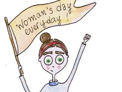 Η γυναίκα αλλιώς -20+1 σκίτσα της Ιρίνας Χατζηνικολάου για την Ημέρα της Γυναίκας
