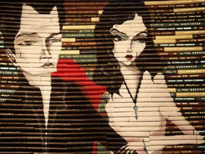 Ο καλλιτέχνης που δίνει δεύτερη ζωή στα παλιά βιβλία