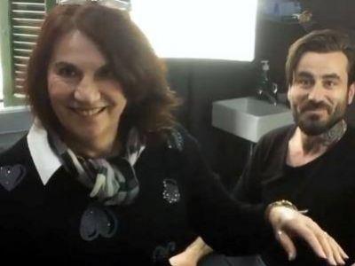 Γιώργος Μαυρίδης: το τατουάζ που έκανε στη μαμά του!