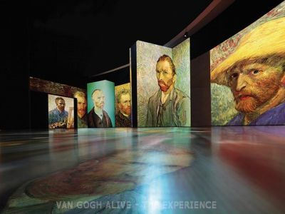 """Επιτέλους! Η έκθεση """"Van Gogh Alive -The experience"""" ανεβαίνει στη ΔΕΘ!"""