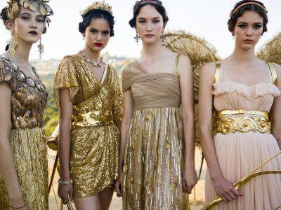 Dolce & Gabbana: επίδειξη με άρωμα Ελλάδας