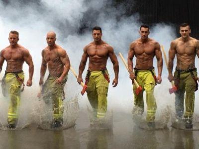Πυροσβέστες με φιλανθρωπικό σκοπό